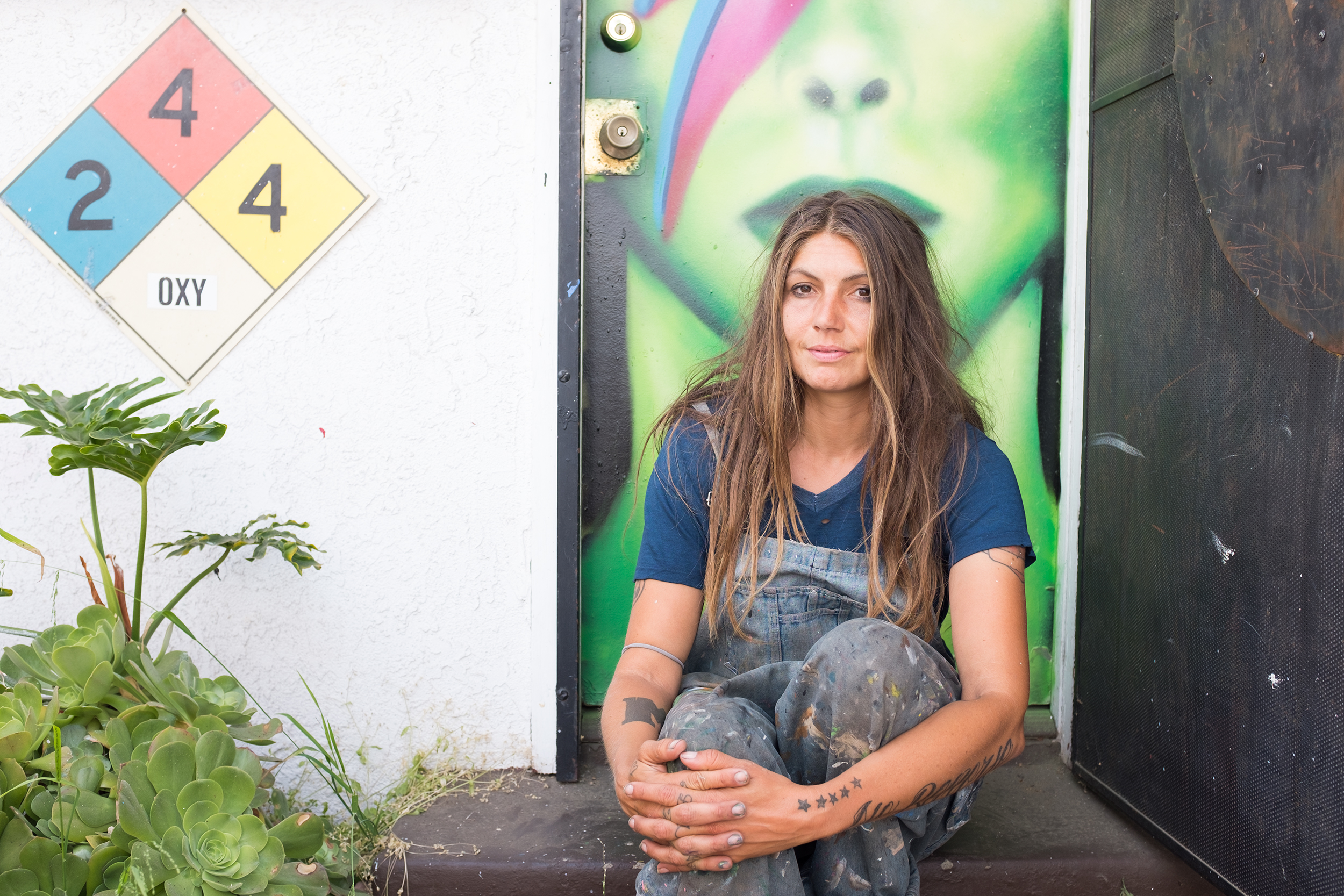 jules muck   Muralist and Street Artist, Venice