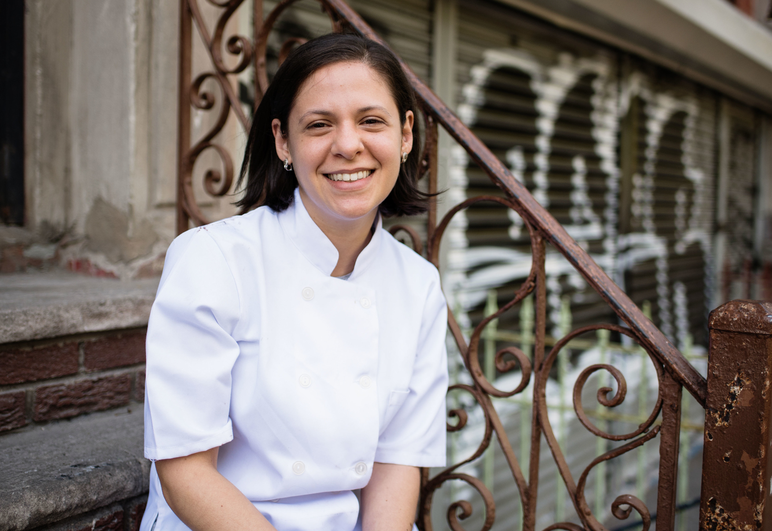 melanie moss   Pastry Chef and Owner, Mini Melanie, Lower East Side