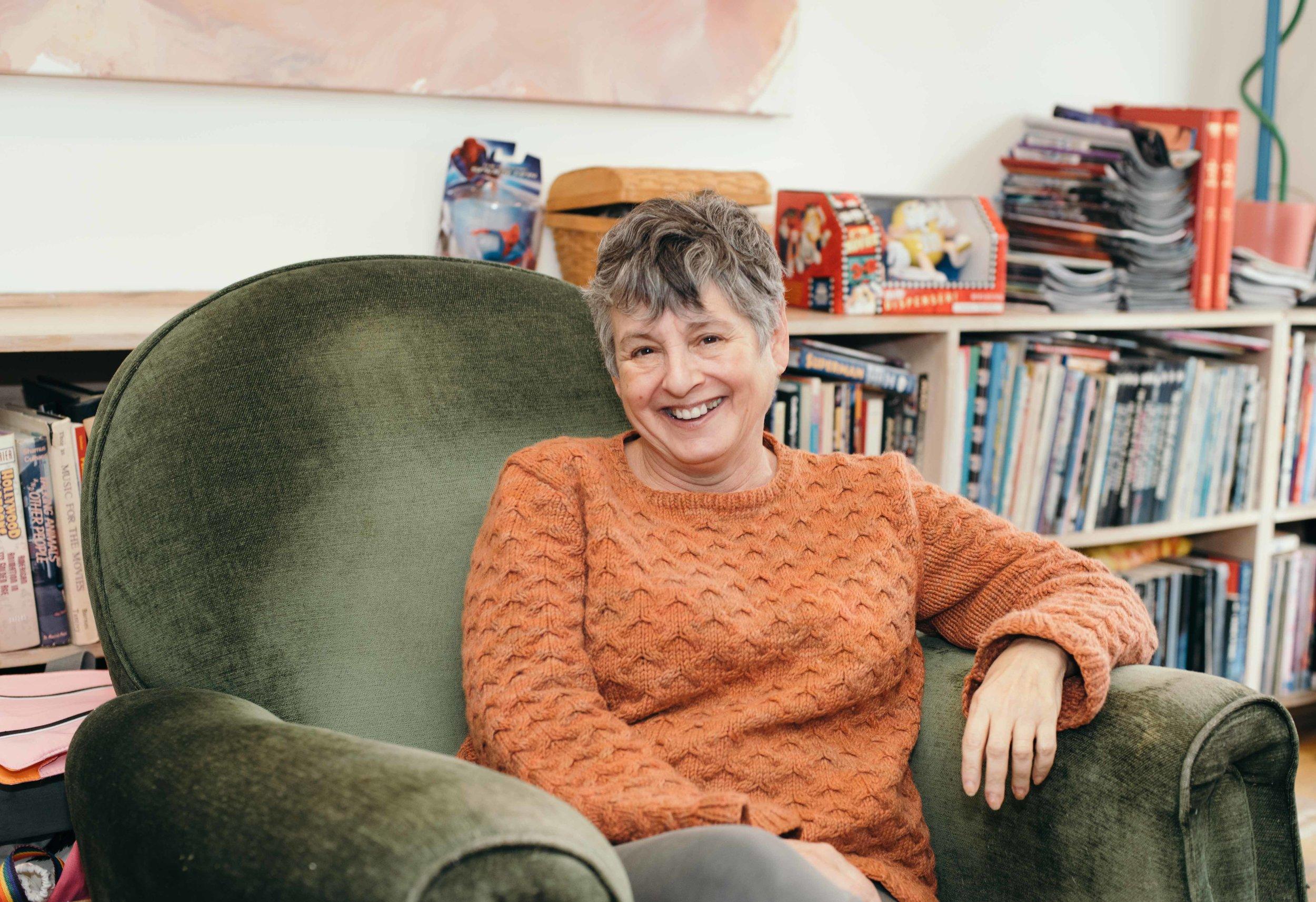 martha thomases   Writer, Publicist, and Activist, West Village