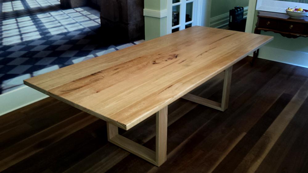 Custom Made French Oak Table