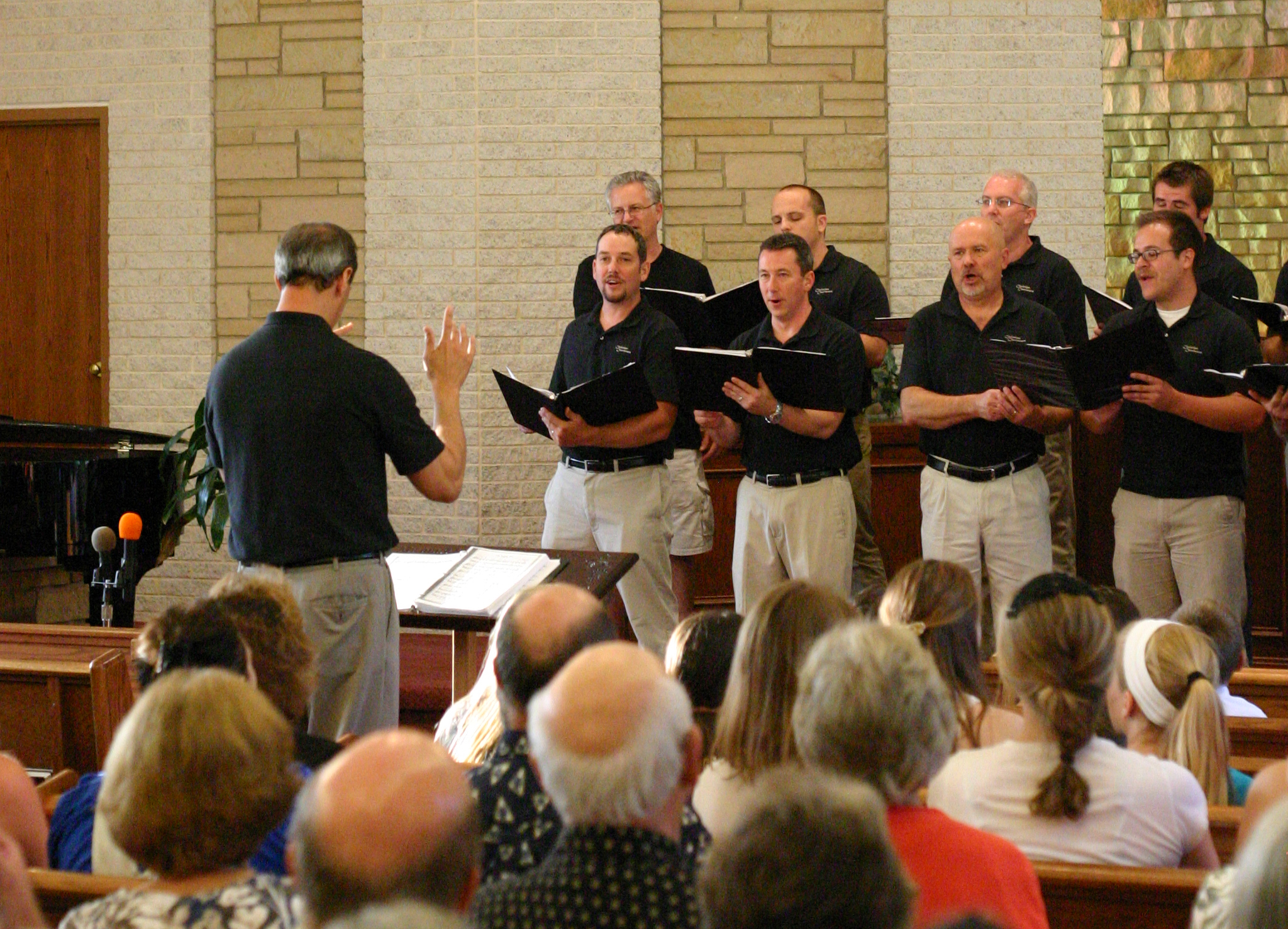 The Christian Choristers performed in Norton, Ohio on August 9, 2014.