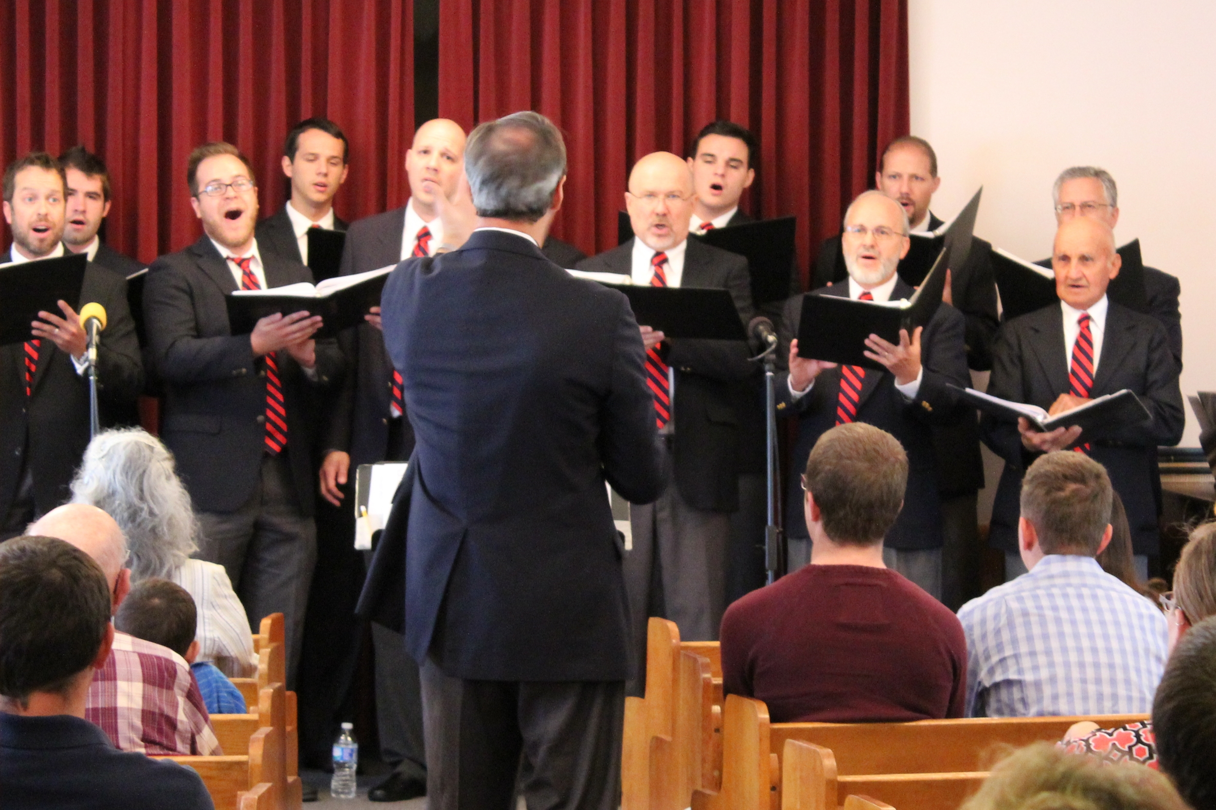 The Christian Choristers sang at Community Bible Church on Sunday, September 14.