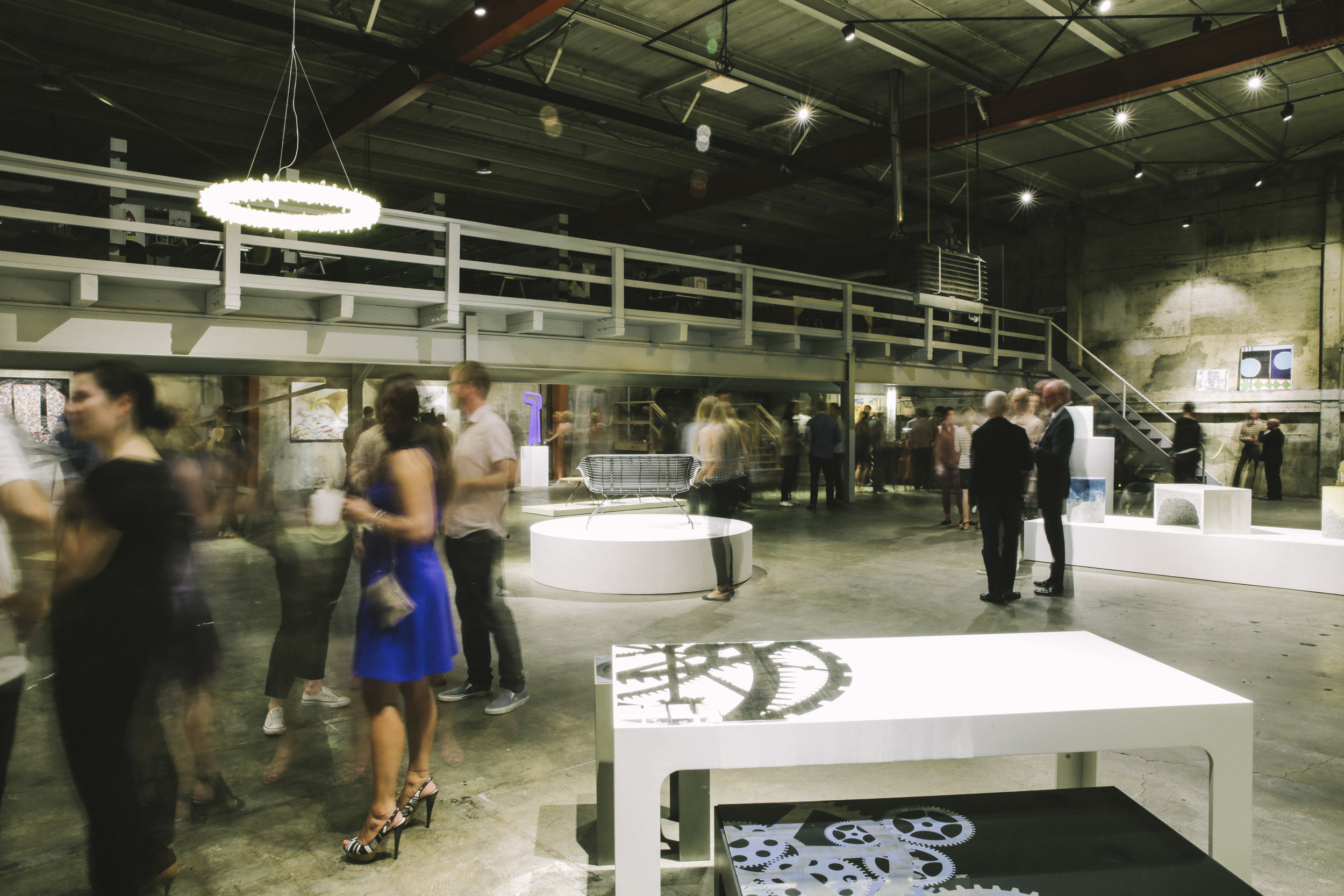 Opening reception for  Shift  at The NWBLK