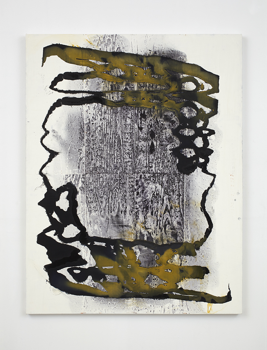Daniel Payavis, Lapsed Connection, oil on linen, 2014