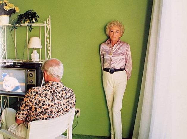 Larry Sultan  Pictures from Home  series on view at LACMA in  Here and Home  on view through July 19, 2015