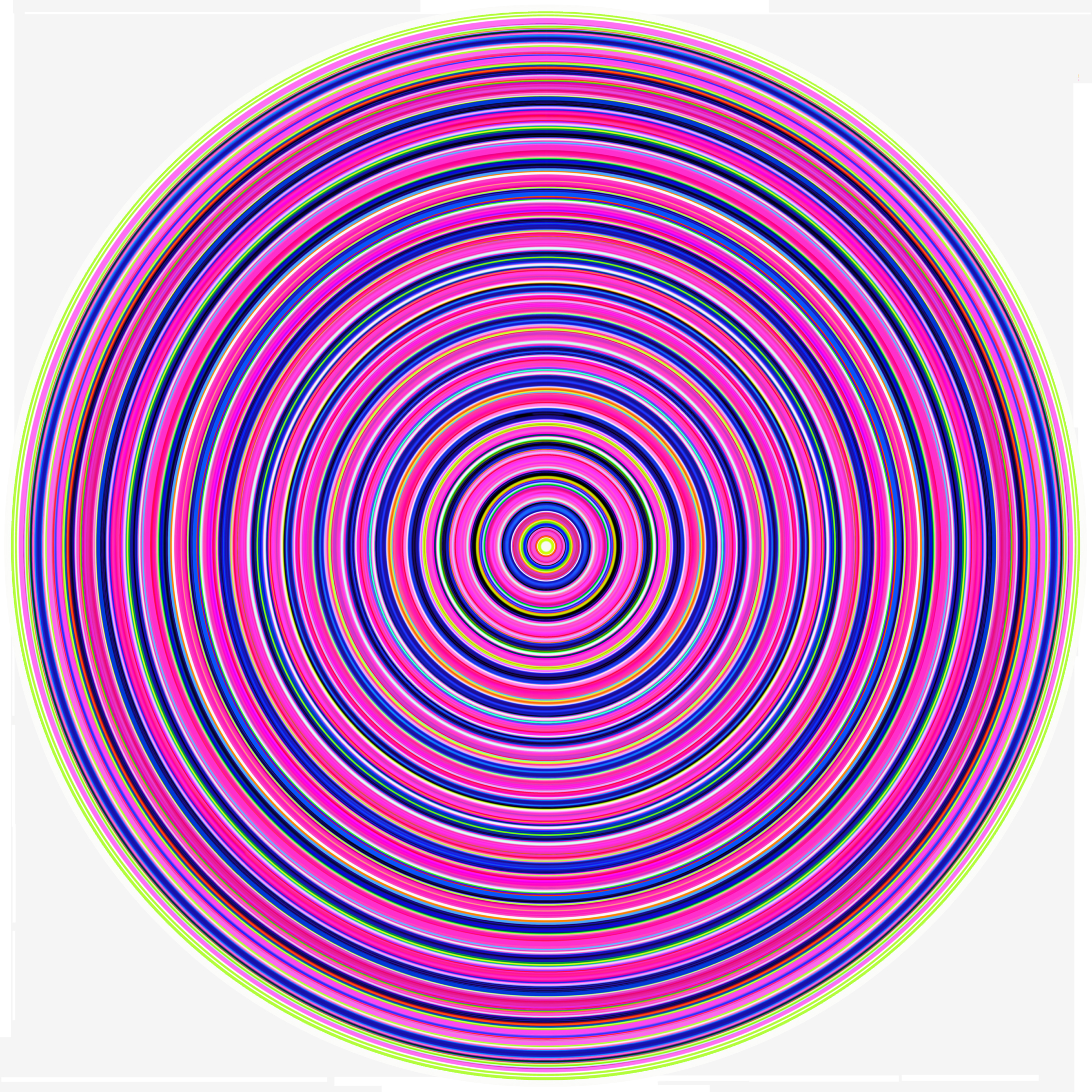 Tom Bolles, Pink Target, pigment print mounted on MDF board - 32 x 32 inches.jpg