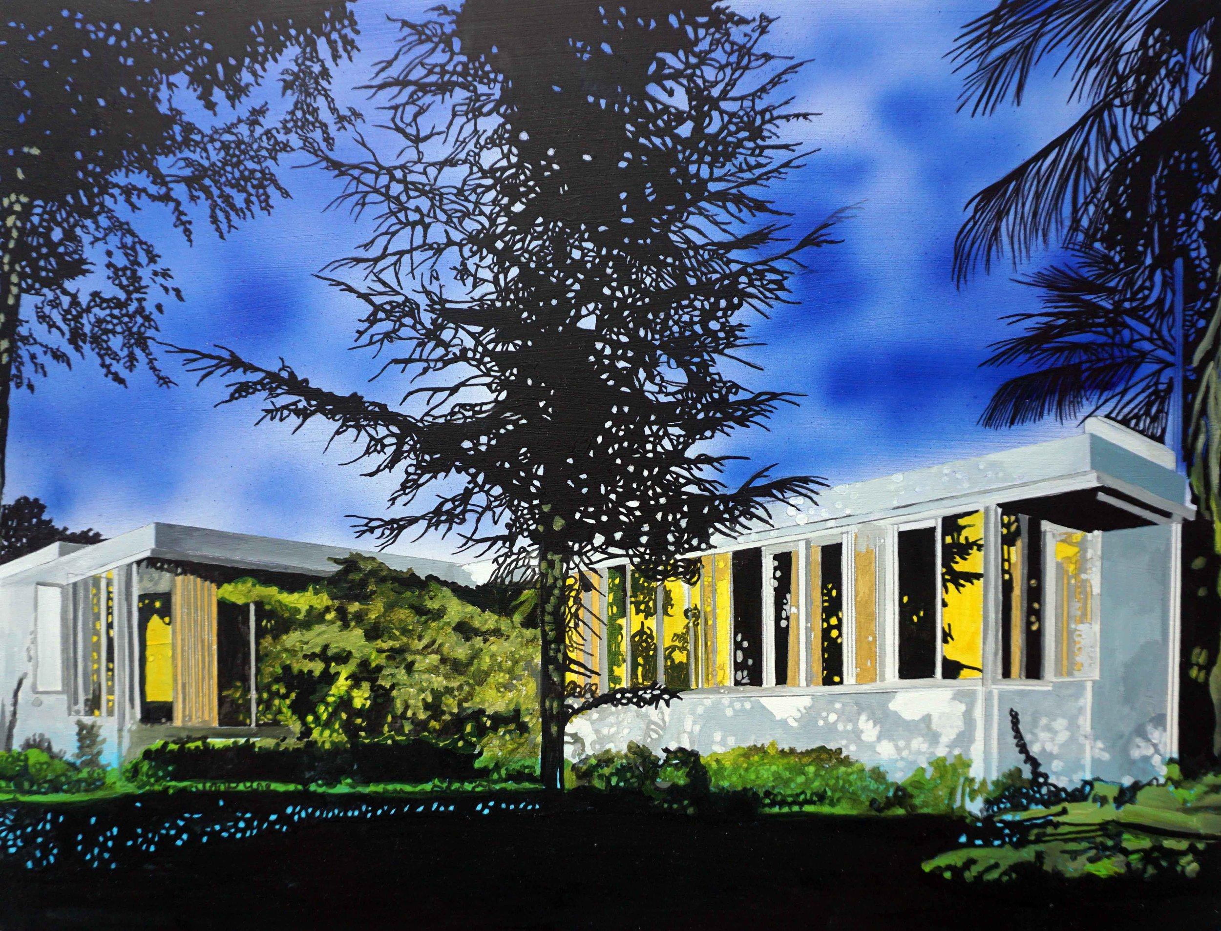 O'Kane_Neutra Richter House_11.75 x 15.75 in.jpg