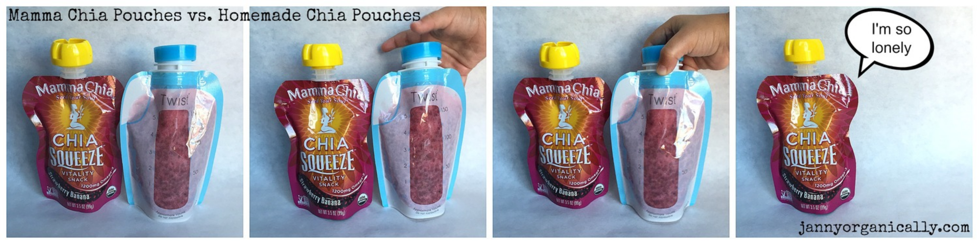 Copycat Mamma Chia [Chia Squeeze] Pouches — janny: organically.