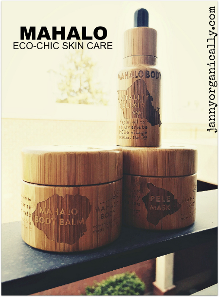 MAHALO eco-chic skin care line review and coupon code! janny: organically.