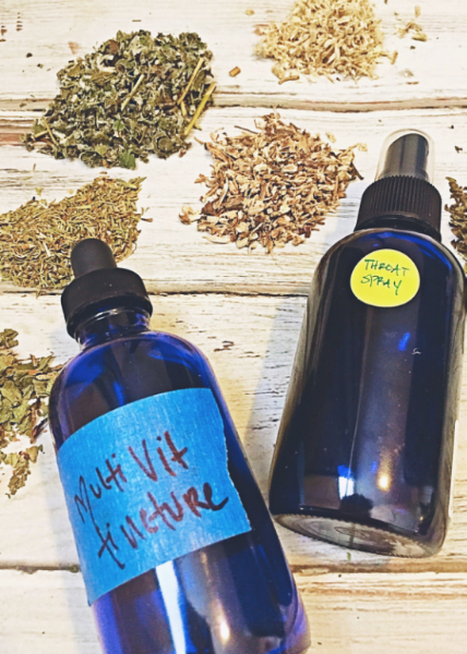 Gear Up For Cold & Flu Season: My Go-To Herbal Tinctures - janny: organically. #fluseason #herbalremedies
