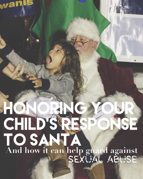 Honoring My Daughter's Santa Preference Can Help Guard Against Sexual Abuse