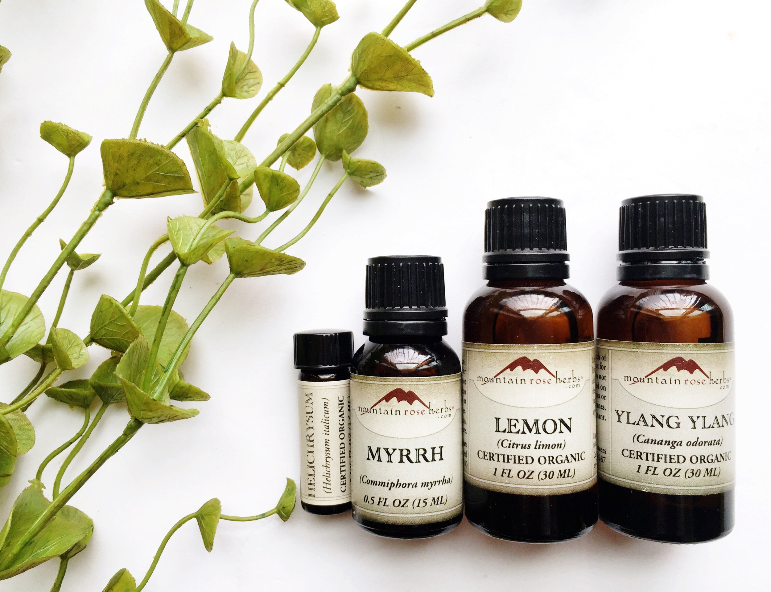 Essential Oils: Why I choose Mountain Rose Herbs  - janny: organically.