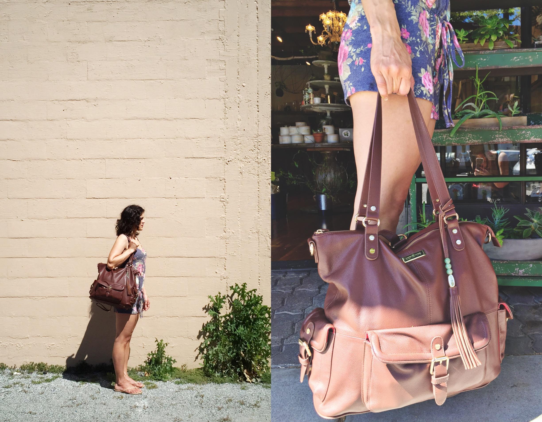 Lily Jade Meggan in Brandy - janny: organically. #diaperbags