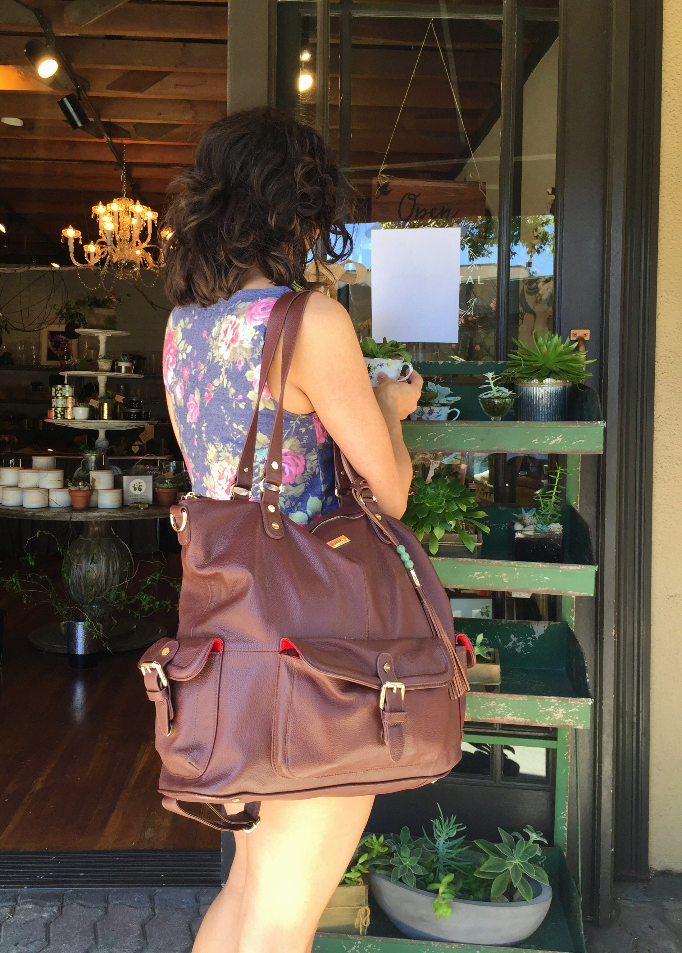 Mother's Day Prep: My Mama Must-Haves - Lily Jade Diaper Bag - janny: organically.