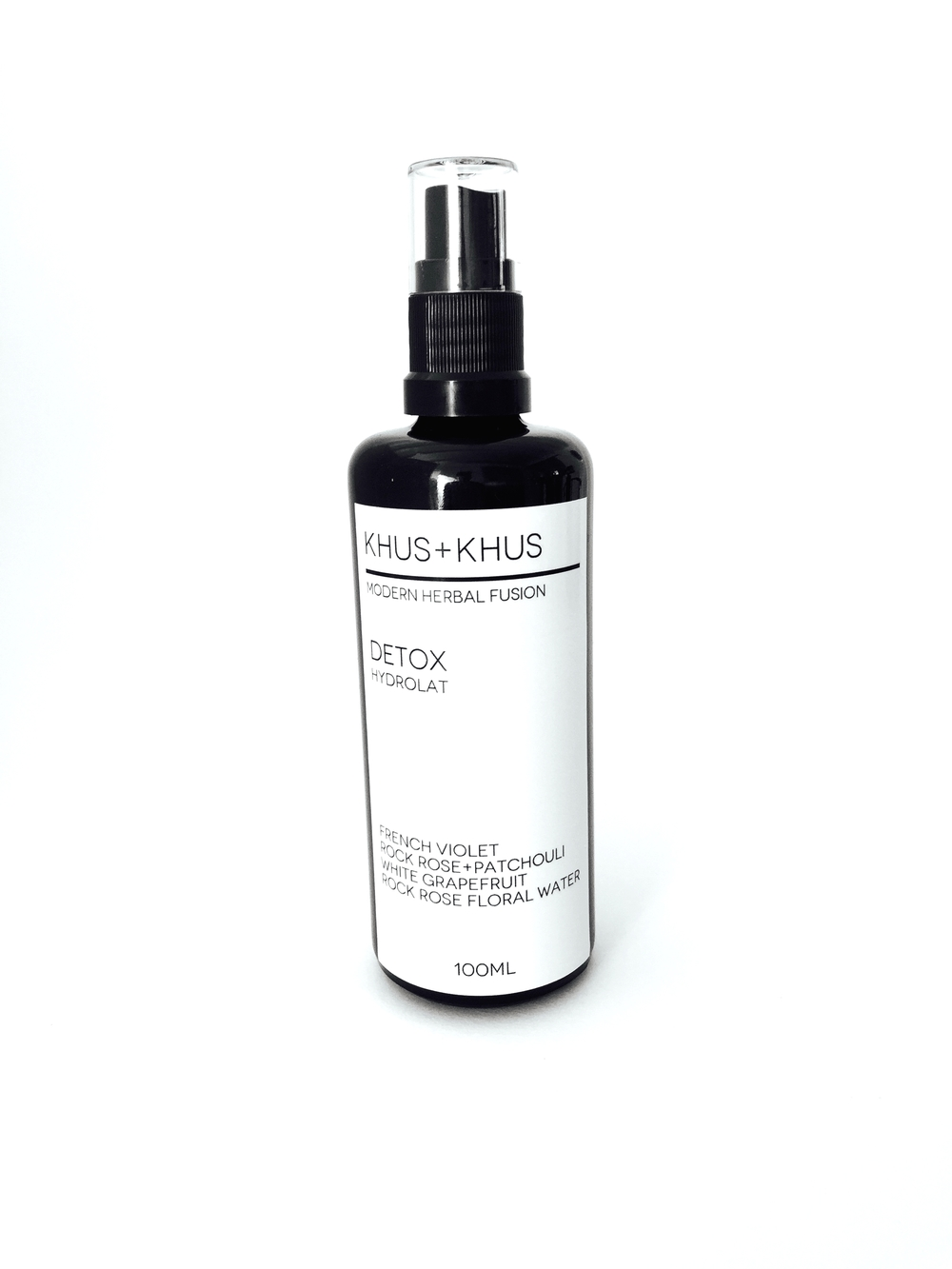 Acne Fighting Hydrolat: KHUS+KHUS Modern Herbal Fusion - discount with code jannyorganically15%