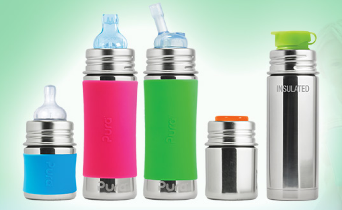 Pura Kiki: 100% Glass and Plastic Free Bottles that Grow with Your Child - janny: organically #bottlereview #bpafree