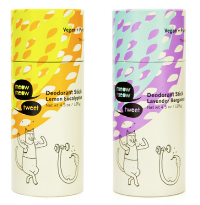 The Clean Beauty Deodorant Guide: Meow Meow Tweet - janny: organically.