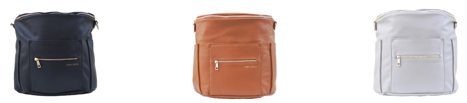 Fawn Design: Not Your Mama's Diaper Bag!   janny: organically.