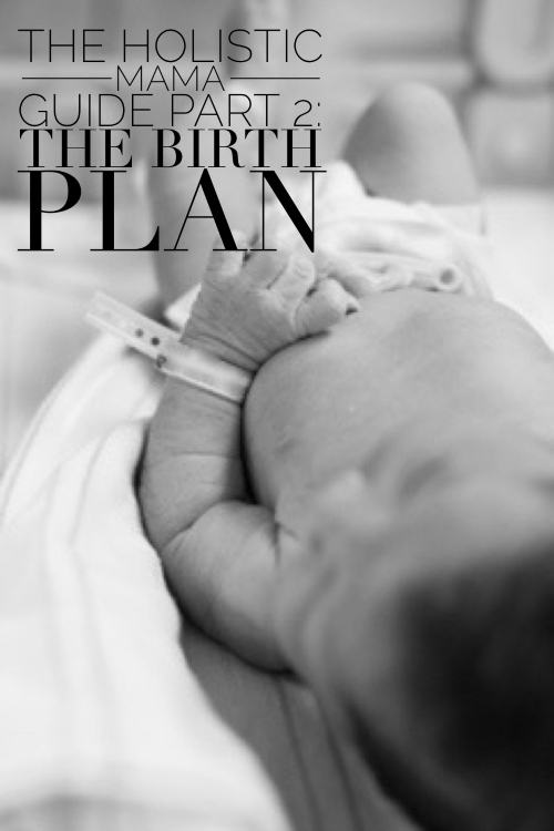 Holistic Mama Guide Part 2: The Birth Plan | janny: organically.