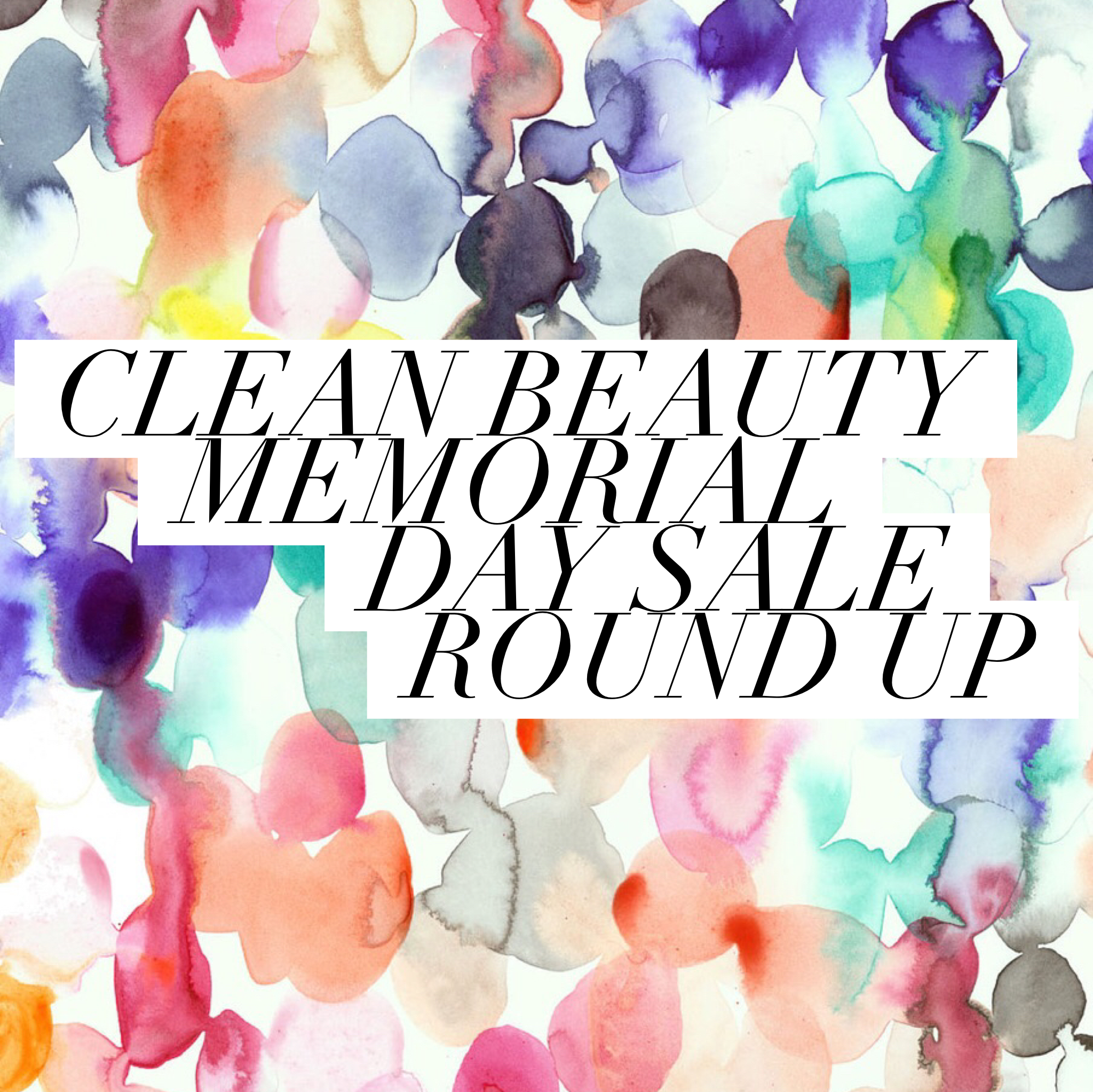 Memorial Day Sale Round Up | janny: organically.