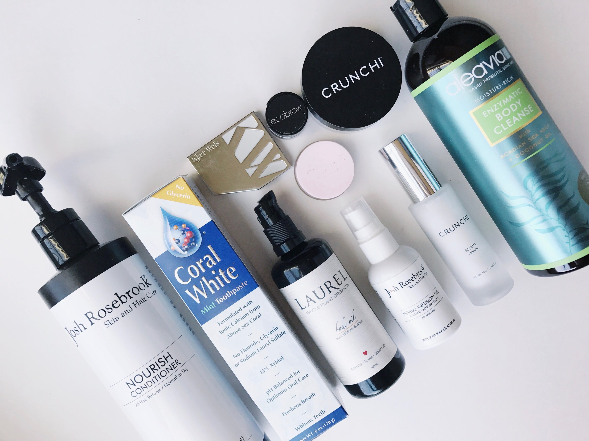 Look No Further: Products I use every day | janny: organically.