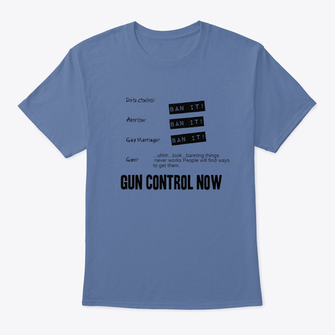 """Ban It!"" - Base on this thing I Tweeted100% of the profits from this shirt go directly to support Giffords Law Center to Prevent Gun Violencehttps://lawcenter.giffords.org/"