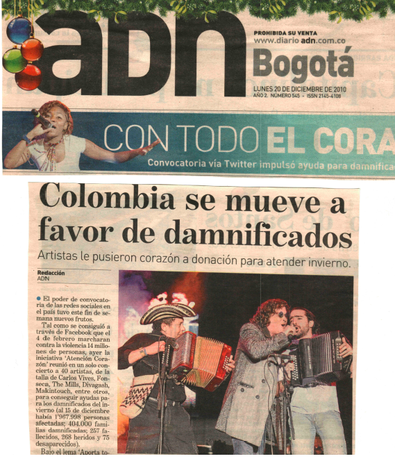 ADN - Performance with Carlos Vives