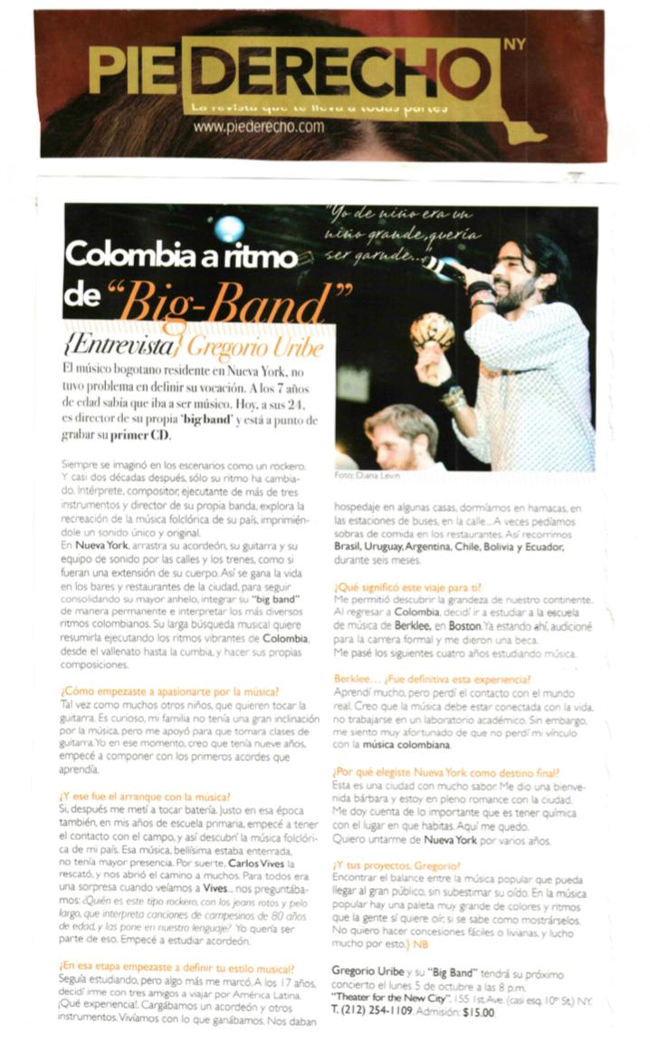 Pie Derecho Magazine