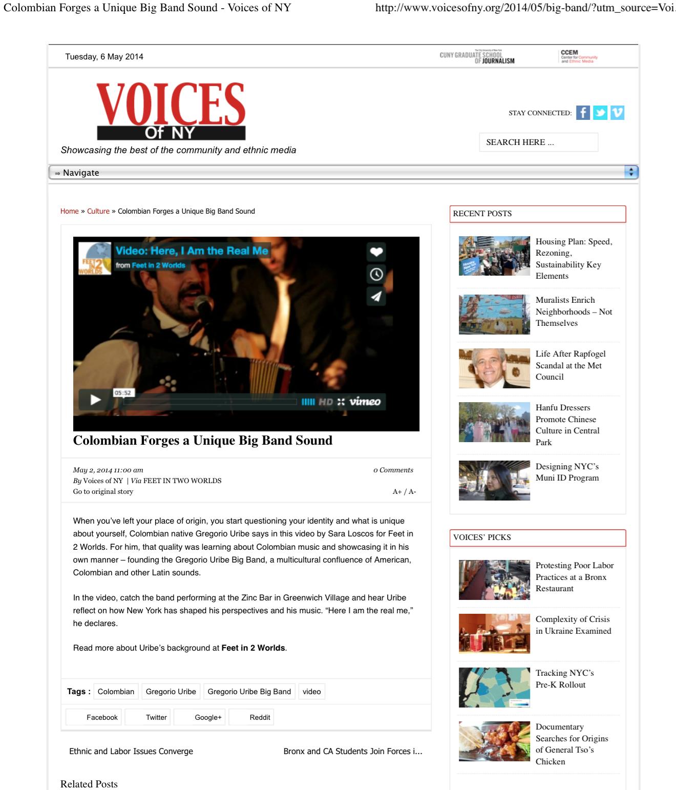 Voices of NY