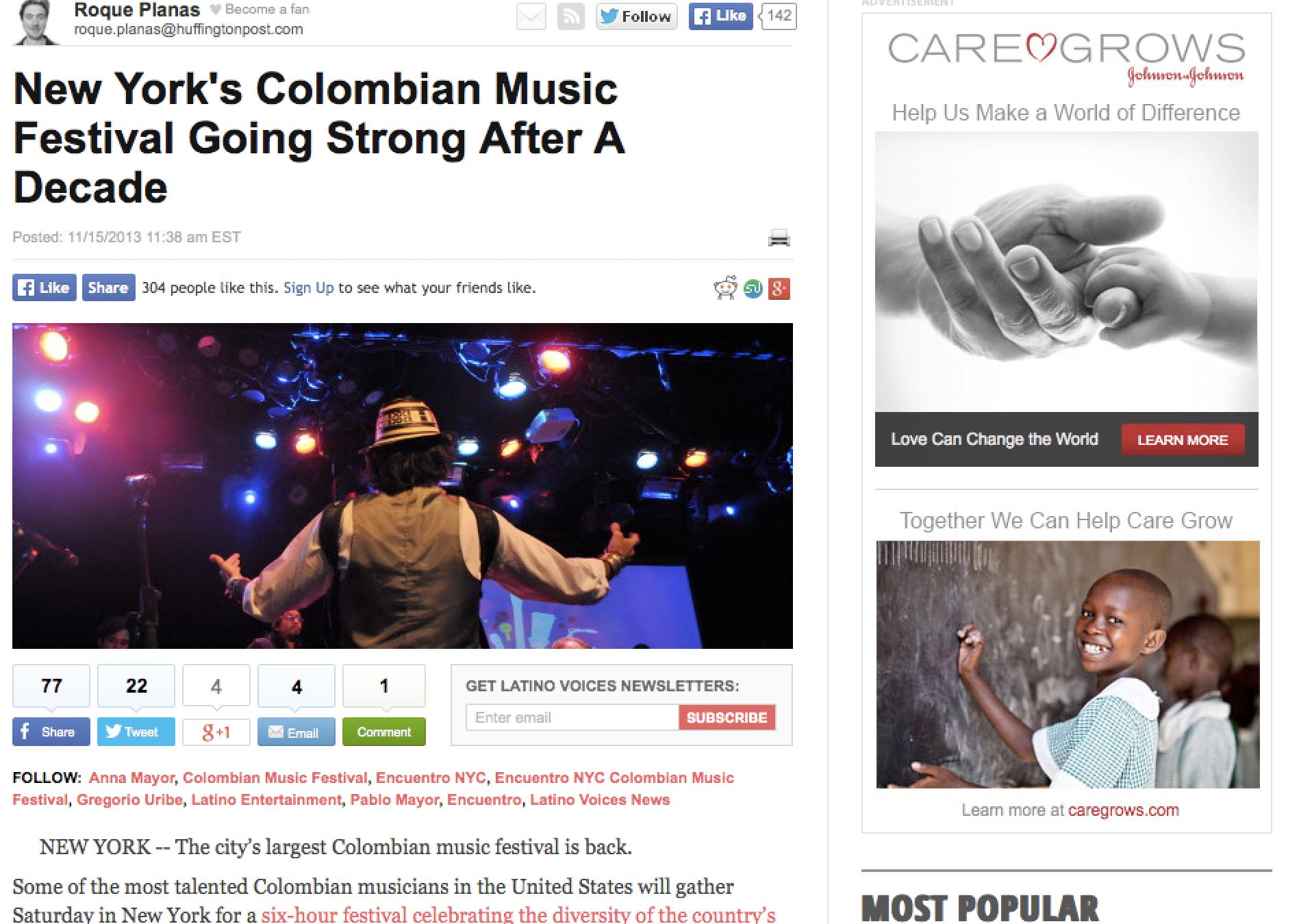 Huffington Post - Encuentro