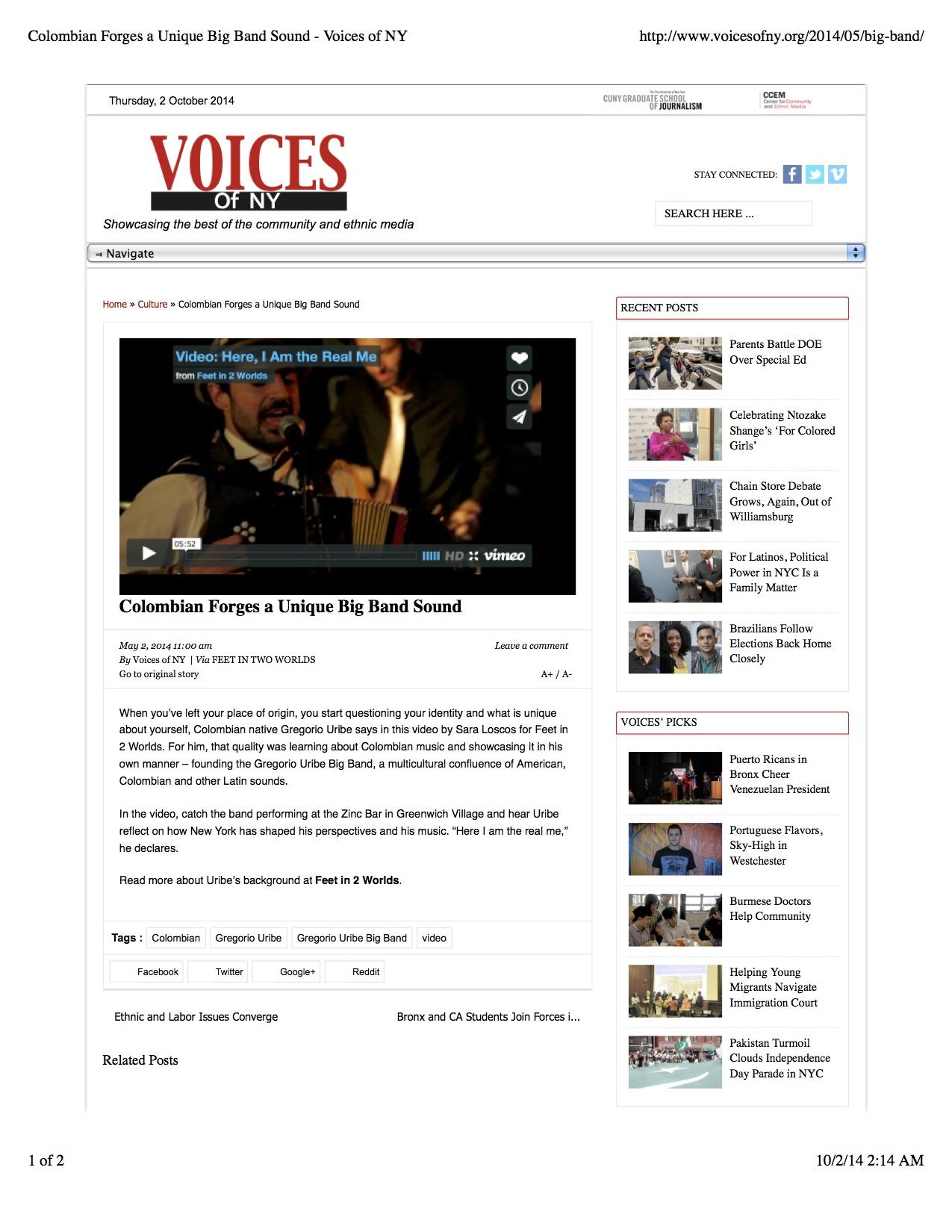 Voice of NY