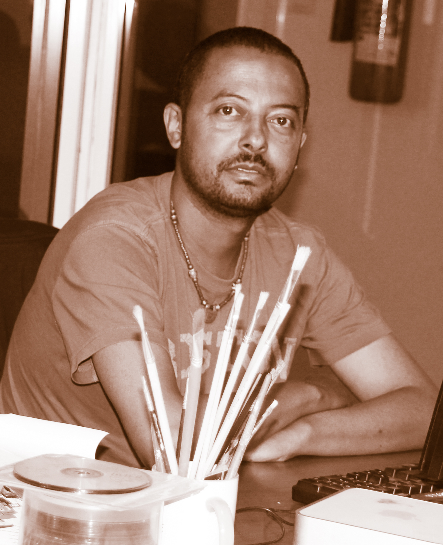 Artist Seifu Abebe