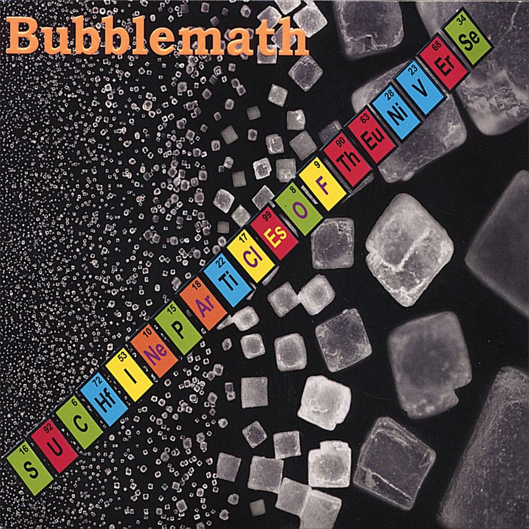Bubblemath CD Cover