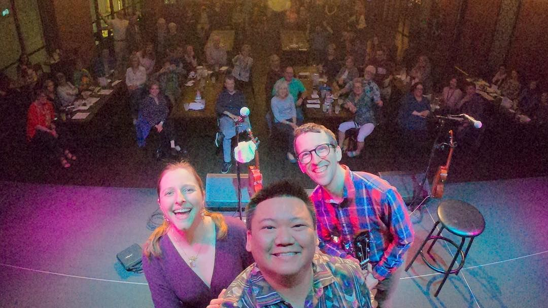 From last month's gig with Craig Chee and Sarah Maisel in Washington, DC!
