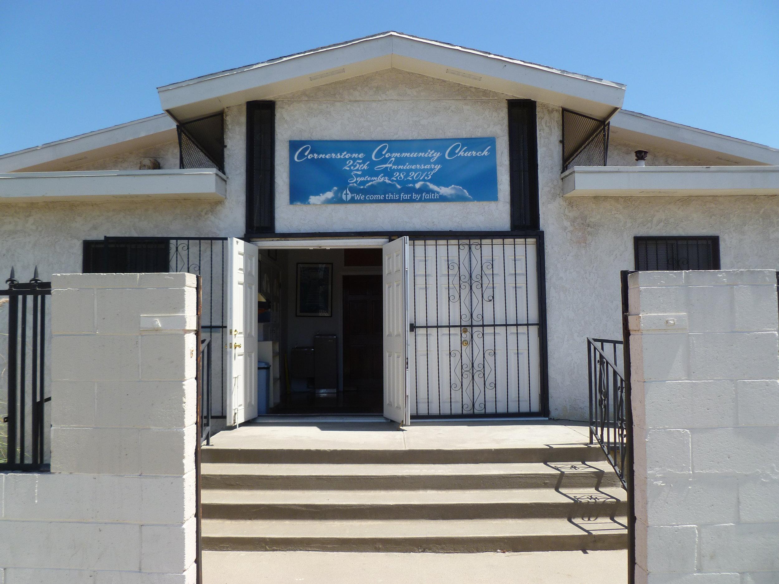 Cornerstone Community Church pre-2016.