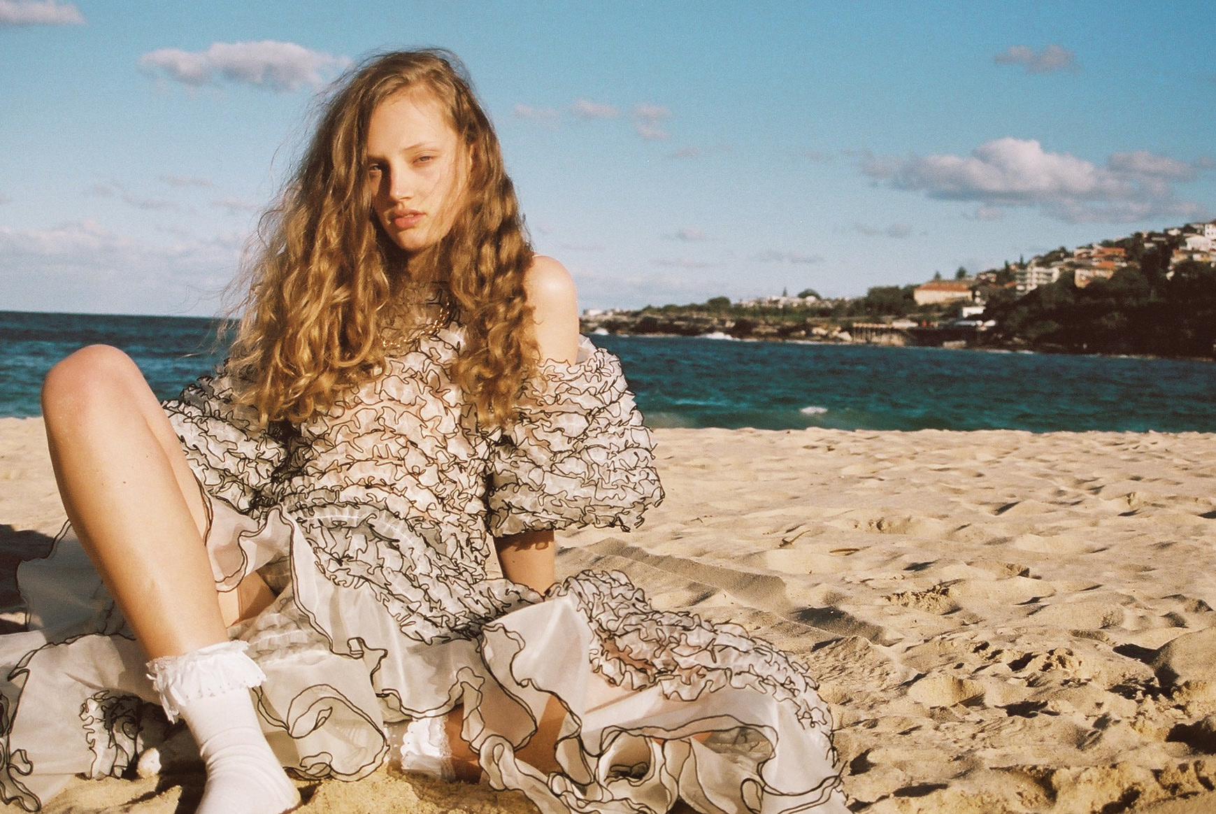 featured on Cool Pretty Cool  Amy Riley - IMG Models Sydney  Wardrobe // Gemma Keil