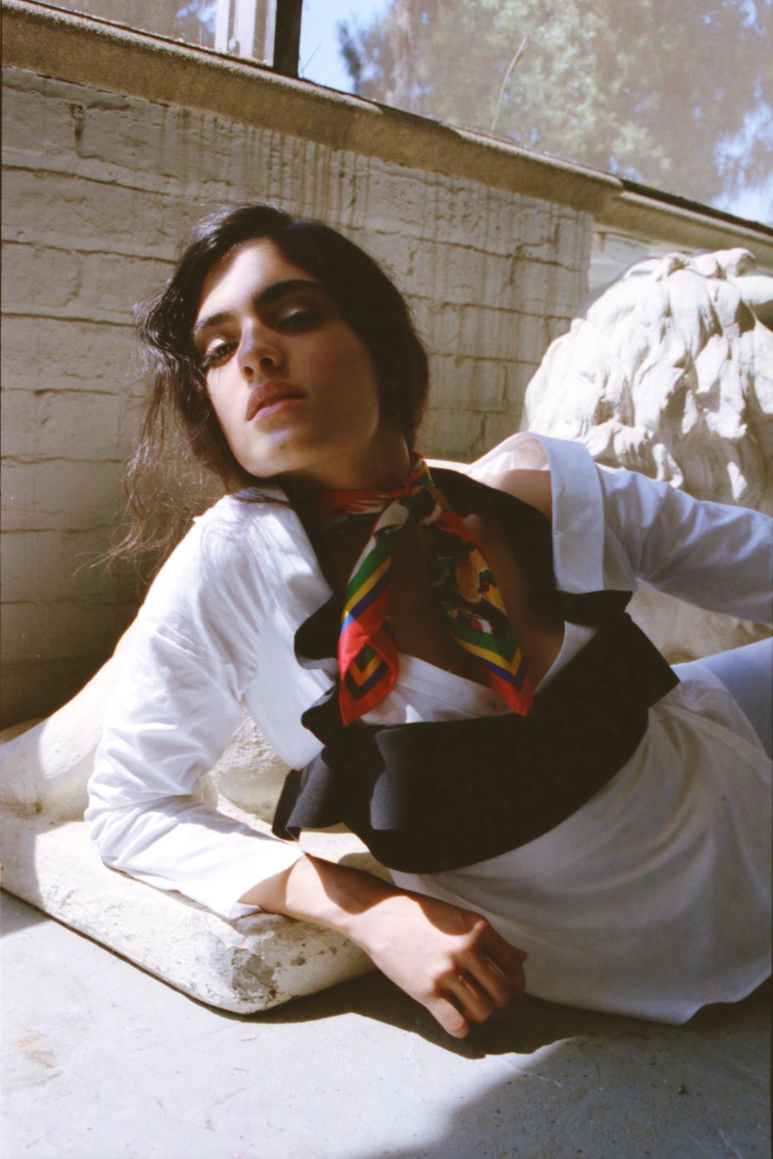 Natalia Castellar Calvani of Next Models  Hair // Sylvia Stankowski  Wardrobe // Sondra Choi  Makeup // Bridget O'Donnell