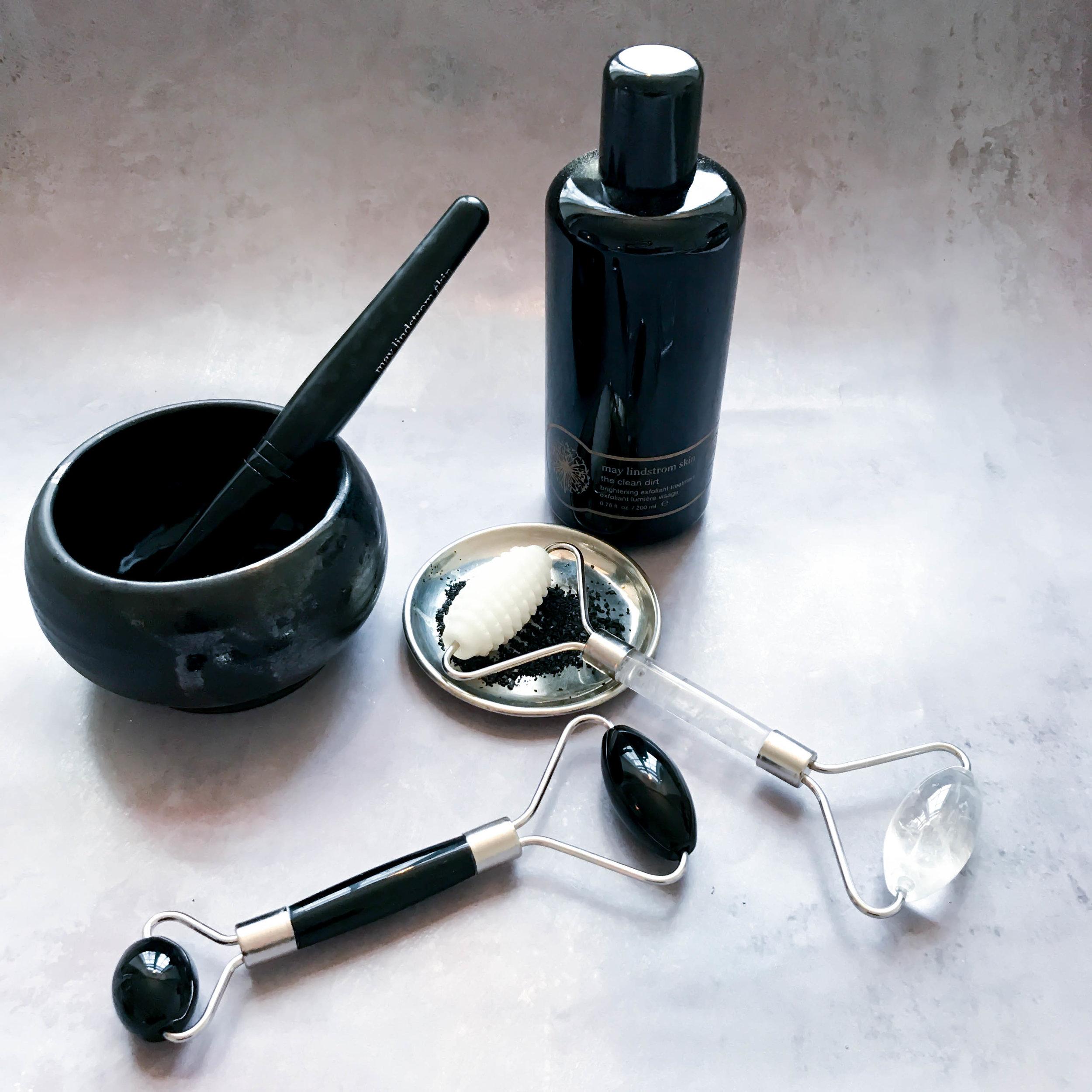 opskriften på glød jaderulle med nupper sort bjergkrystal may lindstrom clean dirt