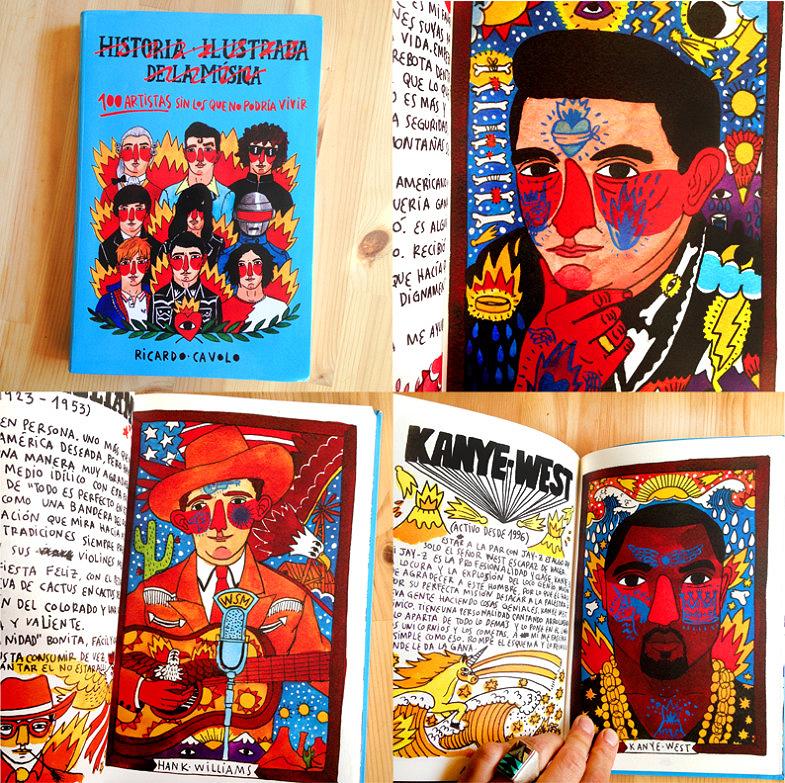 100 Artistas Sin Los Que No Podría Vivir Book Ricardo Cavolo