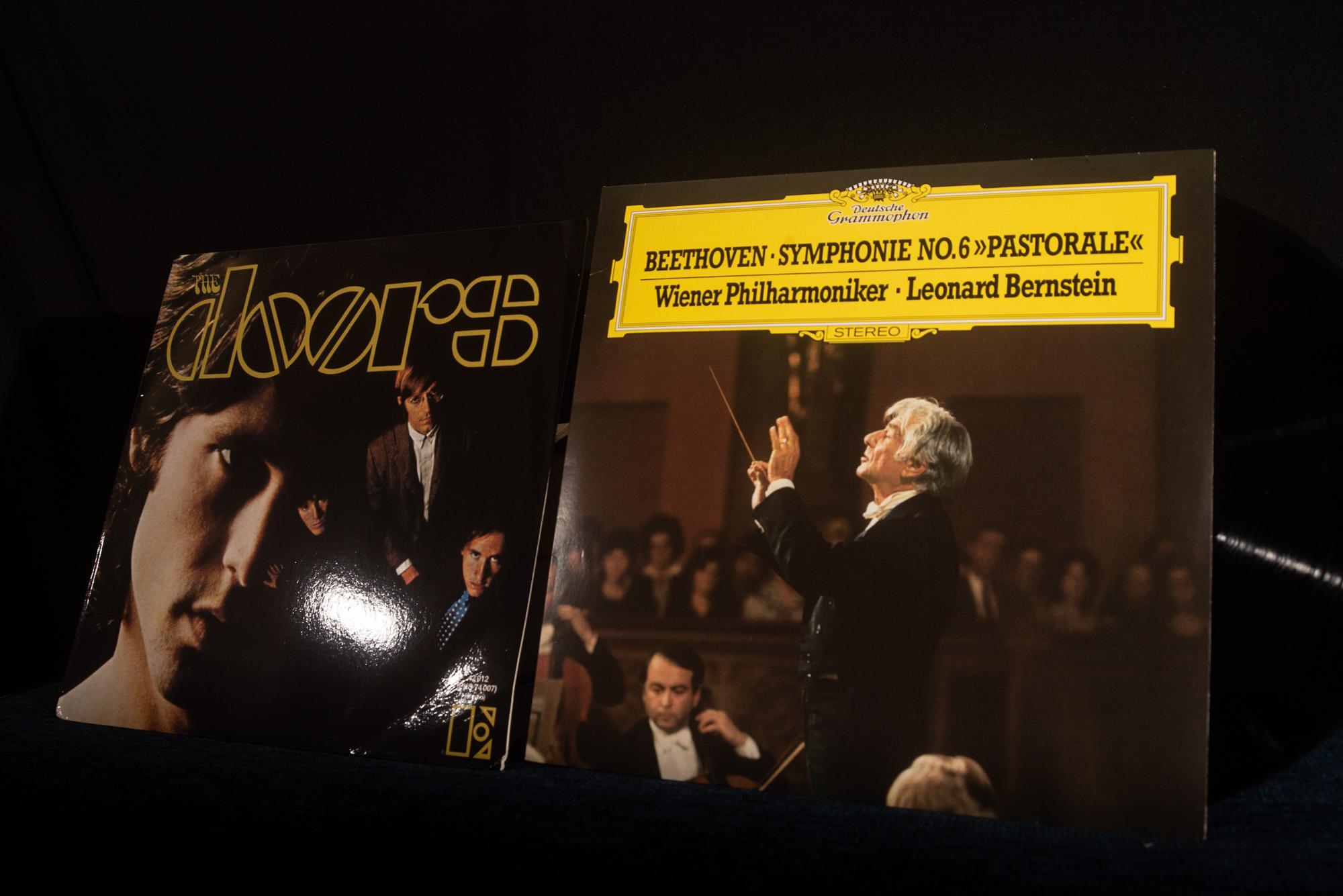 the doors and Beethoven Vinyl