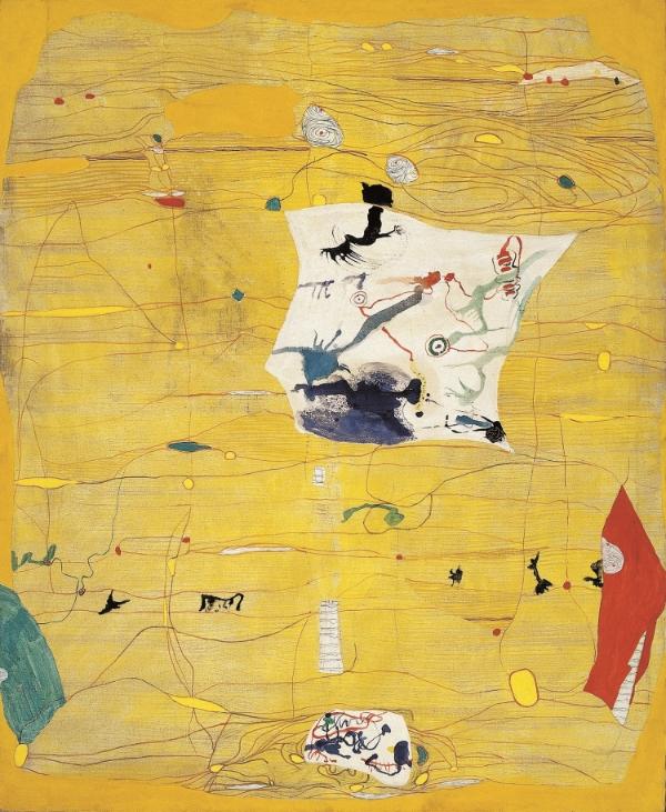 Untitled, 1963 Oil on nettle 190 x 155 cm
