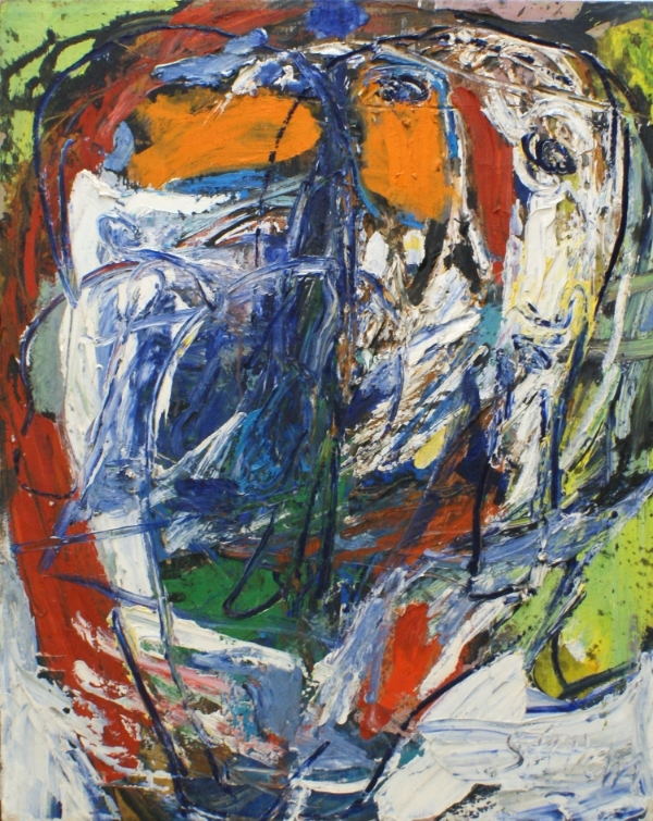 Untitled, 1961 Oil on canvas 78 x 63 cm