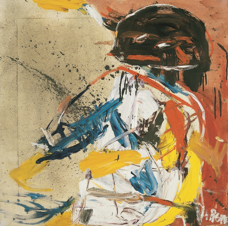 Untitled, 1961 Oil on canvas 96 x 138 cm