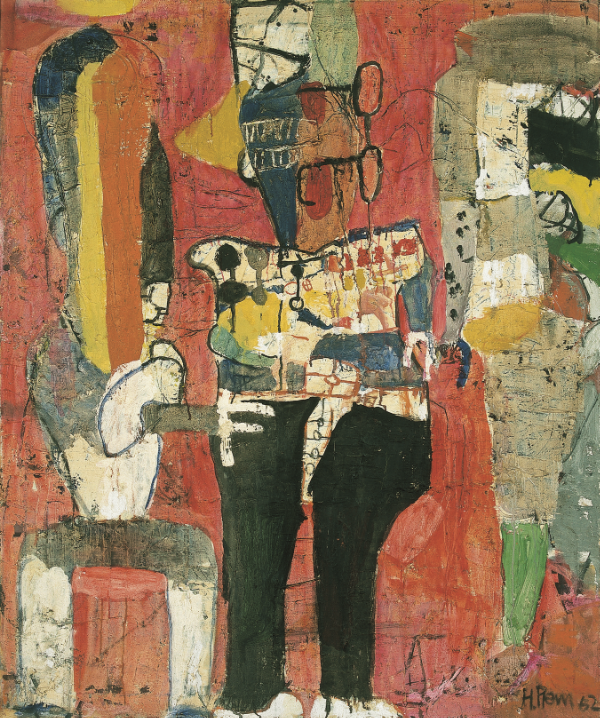 Untitled, 1962 Oil on canvas 120 x 100 cm