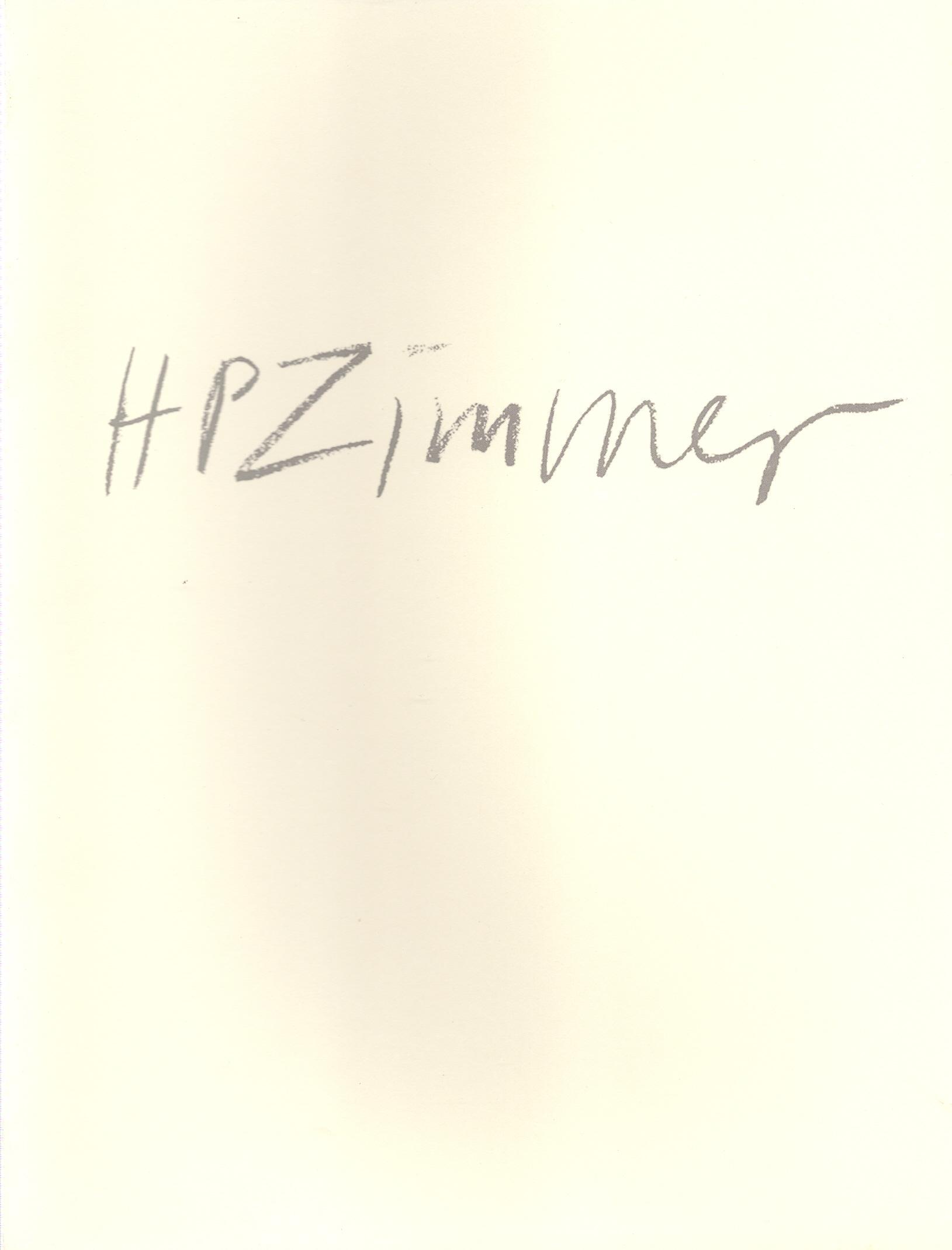 H.P. Zimmer, 1993
