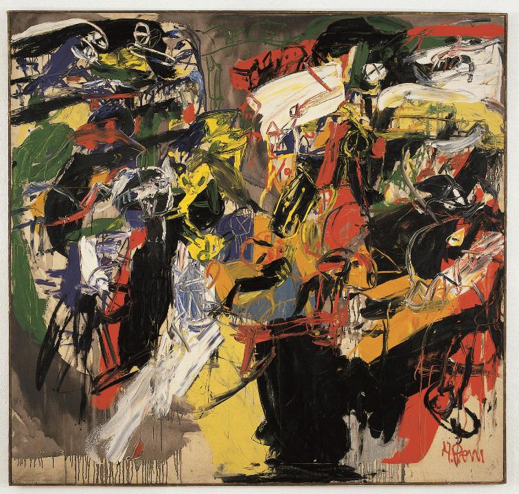 Heimrad Prem  Untitled, 1962   Oil on canvas   200 x 200 cm
