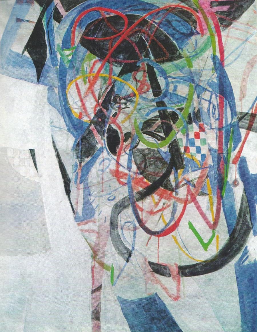 Helmut Sturm  Guttaperka , 1963 Oil on canvas, 100 x 80 cm