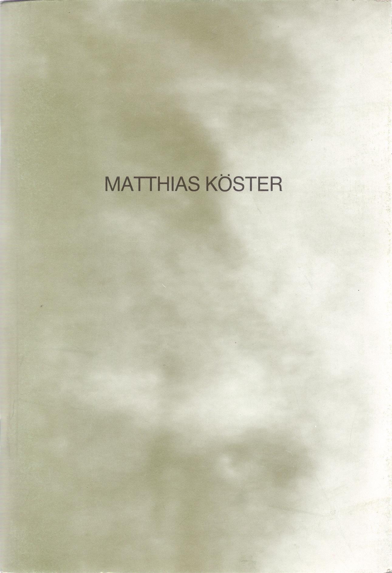 Matthias Köster, 1989