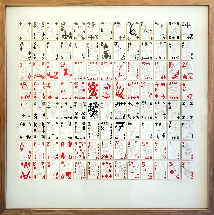 Buraco , 1995-2001 Watercolour and pen on paper 158 x 158 cm