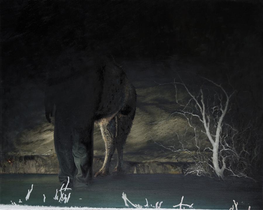 Nashunbatu Untitled ( Winter ), 2012-15 Oil on canvas 80 x 100 cm